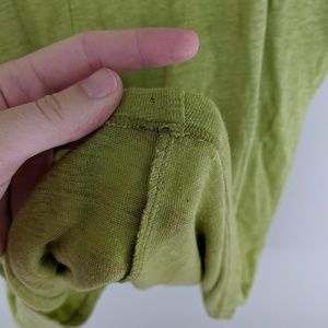 Eileen Fisher Tops - Eileen Fisher   Lime Linen Top - B16